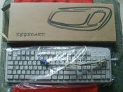 PS2 Tastatur K101 White QWERTZ