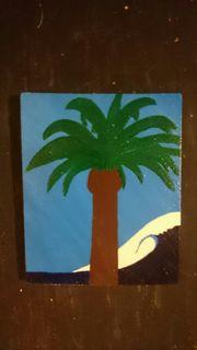 Palmtree Bild Painting Gemaelde