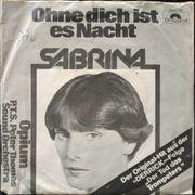 Single Vinyl 7 - Sabrina - Ohne