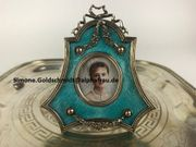 Emaille Silber Bilderrahmen K Faberge-Antique