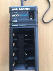 Ansmann Accufresh 5 Automatik-Ladegerät mit