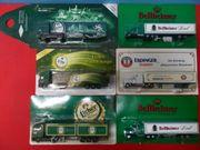 Eisenbahn Modellauto LKW - Reklame Werbung