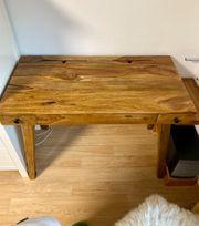 Schreibtisch aus Akazienholz