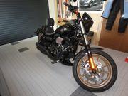 Harley Davidson Fahrer Sissy Bar