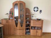 Wohnzimmerschrank-Garnitur