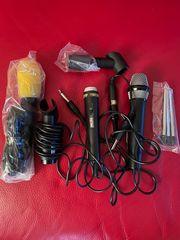 Mikrofone Amstrad mit Schalter 1x