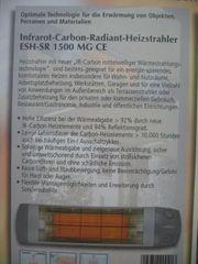 Infrarot- Carbon Radiant- Heizstrahler 1500
