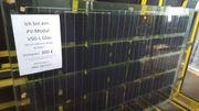 PV Module Photovoltaik Solar viele