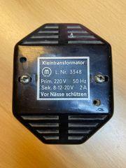 Klingeltafo Kleintransformator retro für Sammler