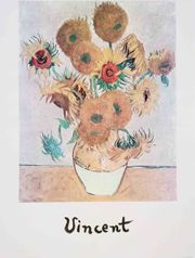 Vincent van Gogh - Sonnenblumen Vase -