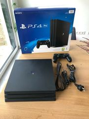 Sony-PlayStation-4-Pro-Aktuellstes-Modell-1TB-Jet