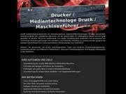 Drucker Medientechnologe Druck Maschinenführer m