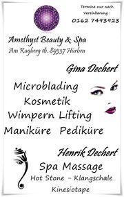Microblading Microshading Dermaroll Microneeling Kosmetik