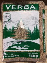 Pellets Holzpellets A1 zertifiziert Palette