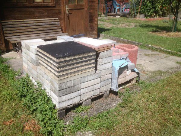 Pflastersteine Betonplatten
