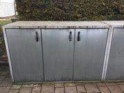 3er- Mülltonnenbox für Mülltonnen bis