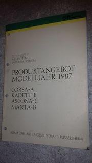 Original Opel KTA1435 Technische Neuheiten