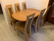 Esstisch Tisch Erle Massiv 6
