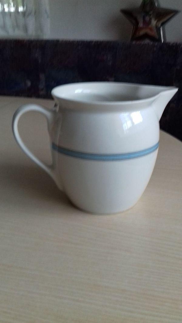 Milchkanne Wilhelmsburger Porzellan