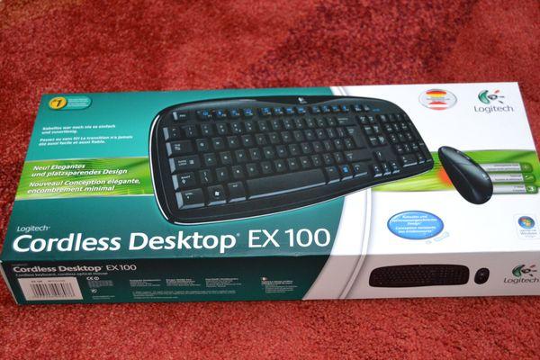 Verkaufe Logitech Cordless Desktop EX