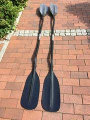 2 Kajak Doppel Paddel Karbon
