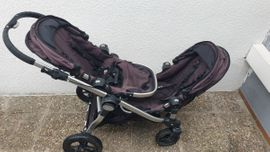 Kinderfahrzeuge - Geschwisterwagen City Select Liegeaufsatz Beemoo