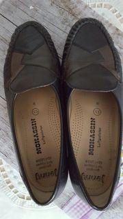 Damen Schuhe Mokassin 38 5