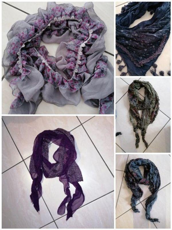 verschiedene tücher Schal s