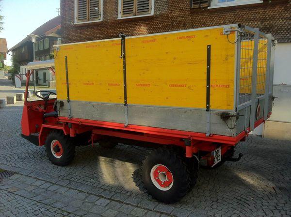 Schlepper Transporter Bucher Aebi Reform