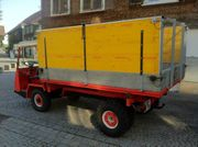 Schlepper Transporter Bucher Aebi Reform