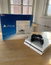 PS4 500GB 2 Controller und