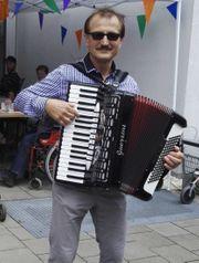 Akkordeonspieler in Hamm Hagen Haltern