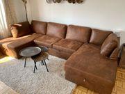 Neuwertiges Sofa 1 Jahr braun