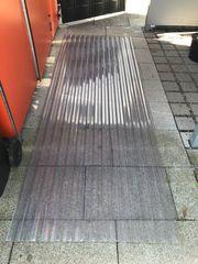 Wellplatten Dachabdeckung klar