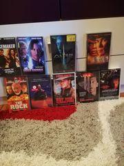 Verkaufe Videokassetten mit Videorecorder