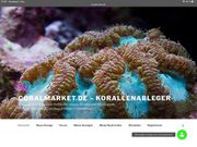Meerwasser Korallen Korallenableger von Privat