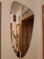 Wand Spiegel Nierenform Vintage Wall