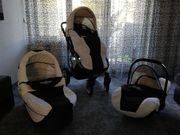 Kombi-Kinderwagen Bergsteiger Capri Verhandlung möglich