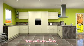 Bild 4 - Moderne grifflose Küche 245 x - Köln Ehrenfeld