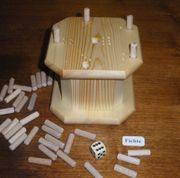 Würfelspiel aus Holz Handarbeit