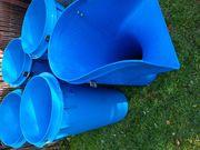 Schuttrutschen blau