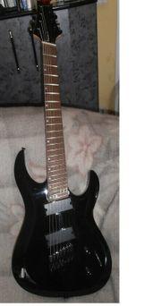 Schnäppchen schöne E-Gitarre mit aktiven