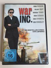 War Inc DVD