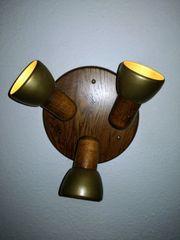 Rustikale Deckenlampe Strahler 3x E27