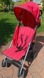 Baggy rot mit Sonnenschutz