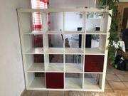 Ikea Raumteiler Kallax weiß