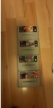 4x Nintendo SNES Spiele - Bubsy