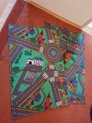 2x Kinderteppiche Spielteppiche - Straßenteppiche - ca