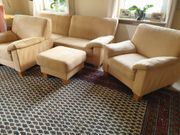 Couch-Garnitur sehr gepflegt 2-er Sofa