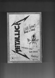 Metallica Box 2DVDs u 3CDs